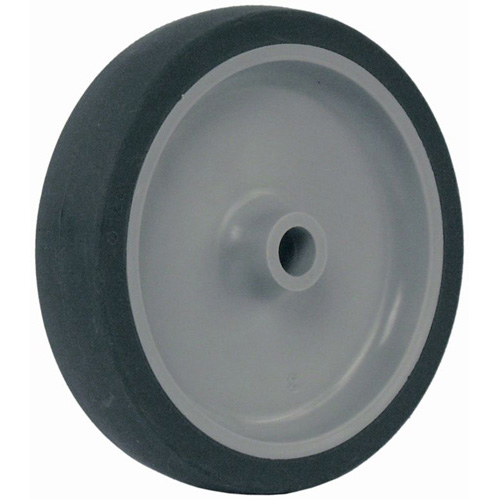 Thermoplastic elastomer wheels with plain bearing
