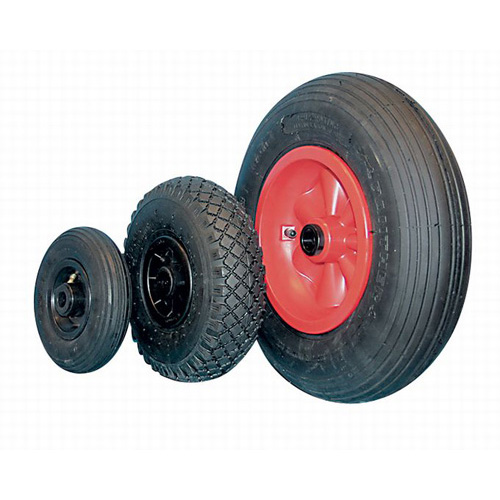 Pneumatic wheels with synthetic rim and roller bearing - Ø 200 - 400 mm