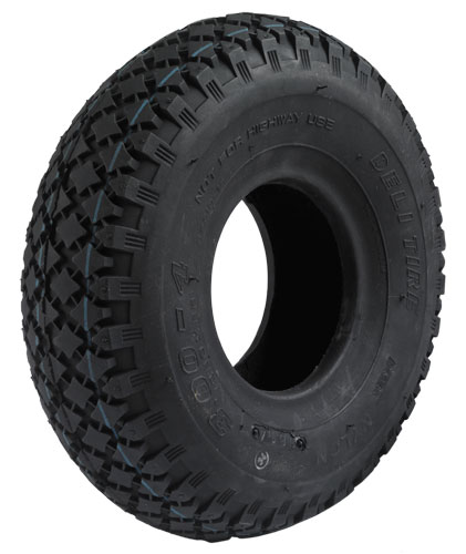 Tyre suitable for pneumatic wheels Ø 200 mm