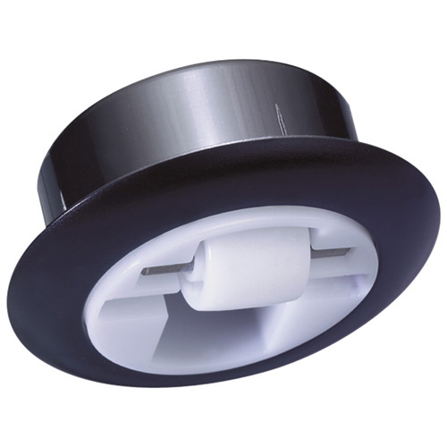 Integrated swivel castors with polyamide wheels - for invisible installation