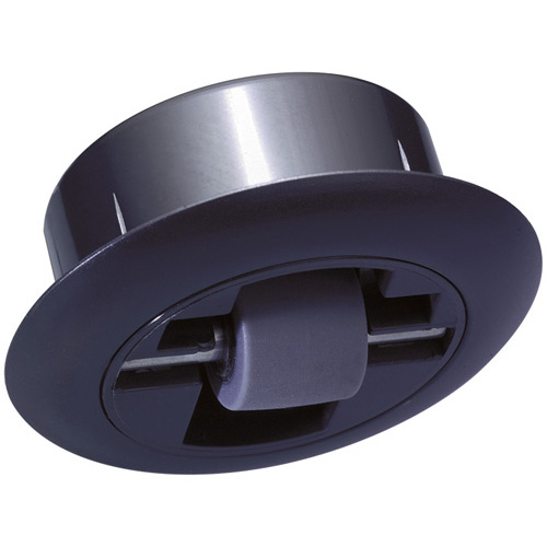 Integrated fixed castors with elastomer wheels - for invisible installation