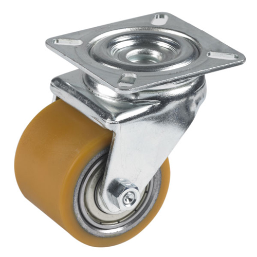 Figaro theatre swivel castors with polyurethane wheels and ball bearing
