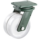 PREMIUM XXL Swivel castors with polyamide wheel and ball bearing