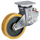 Sprung heavy-duty rollers - available with 9 wheel variants