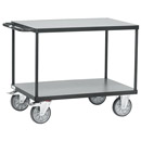 Table trolley 850x500 mm - new in trend colour anthracite