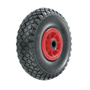 Puncture proof wheel (filled w. foam polyurethane)